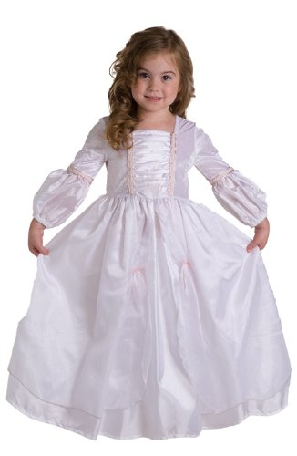 Blushing Bride Costumes (Little Adventures Deluxe Princess Bride Dress-up Costume, TODDLER: 12M - 2T (SMALL))