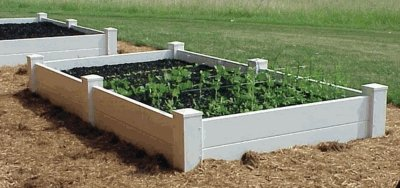 Dura-Trel 11182 4 by 4 by 1.5-Feet Raised Planter Bed by Dura-Trel, Inc.