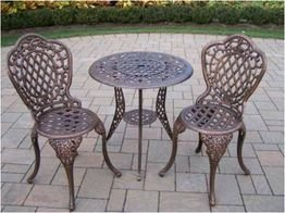 Oakland Living - Mississippi 3pc Bistro Set 2005-AB