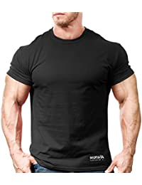 Monsta Gym Wear Classic Workout T-Shirt Black