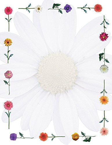Great Papers! Daisies Letterhead, 80 Count, 8.5