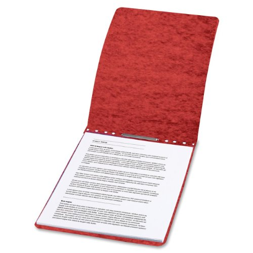 Tyvek Hinge Cover (ACCO PRESSTEX Report Cover, Top Bound, Tyvek Reinforced Hinge, 2.75 Inch Centers, 2 Inch Capacity, Letter Size, Red (A7017028))