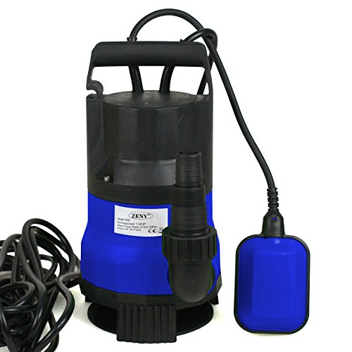 SUPER DEAL Submersible Water Pump 1/2HP 2000GPH Swimming Pool Pond Flood Drain w/Float Switch and Cable by SUPER DEAL