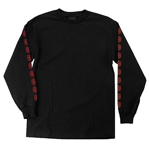 Independent Men's Bauhaus Cross Shirts,X-Large,Black