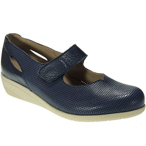 Calzados Romero Women's Court Shoes Blue Size: 3.5 r1Gdl