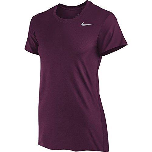 Nike Women's Dri-Fit Legend Short Sleeve T-Shirt (Small, Dark ()