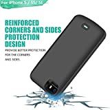 LOYTAL Battery Case for iPhone 5 / 5S / SE, 4000mAh