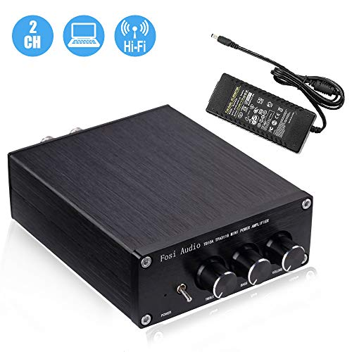 2 Channel Stereo Audio Amplifier Receiver Mini