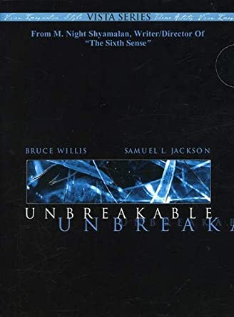 Amazoncom Unbreakable Two Disc Vista Series Bruce Willis