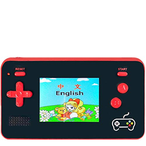 vmree Retro Handheld Game Console 5000mAh Power Bank 188 Classic FC Games 2.5' Screen (red)