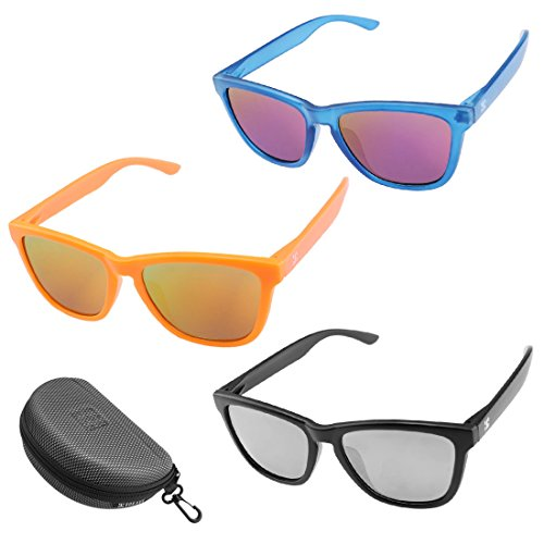 808 Ave Polarized Wayfarer Sunglasses 27 Looks in One! For Men, Women & Children, Interchangable Mix & Match DIY Product - 3 - Interchangeable Arms Sunglasses