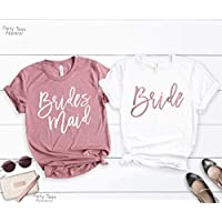 Bachelorette Party Shirts, Bridesmaid, Bride's Babes, Bridal Party Shirts, Babe of Honor T-Shirt, Wedding Party Tshirt, Bridesmaid Proposal, Bridesmaid Gift