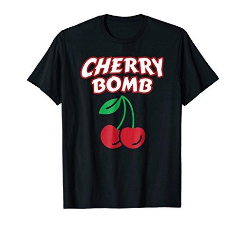 70s Retro Shirts for Women, Cherry Bomb T Shirt ()
