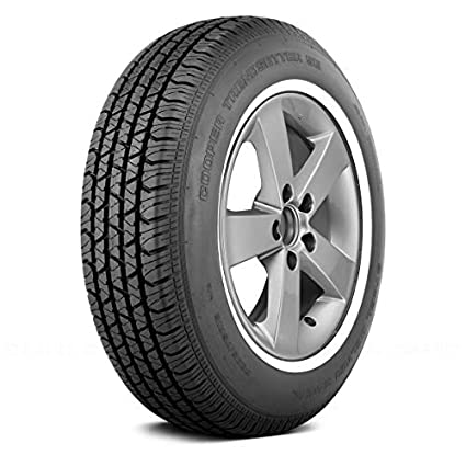 cc7f5570bb99c Amazon.com: Cooper Trendsetter SE P235/75R15 Tire - with White Wall ...