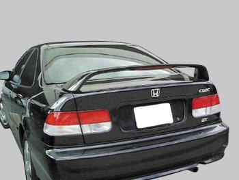 2dr Factory Style Spoiler - Accent Spoiler- Honda Civic SI 2dr./4dr Factory Style Spoiler- Vogue Silver Metallic Paint Code: NH583M