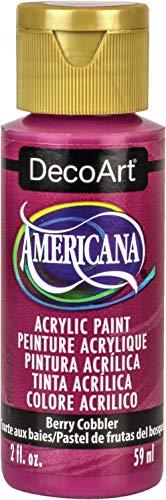 Deco Art DA370 Americana Acrylic Paint 2ozBerry Cobbler
