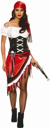 Sexy Women's Pirate Buccaneer Wench Costume