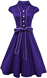 Amazon.com: Purple - Casual / Dresses: Clothing Shoes &amp Jewelry