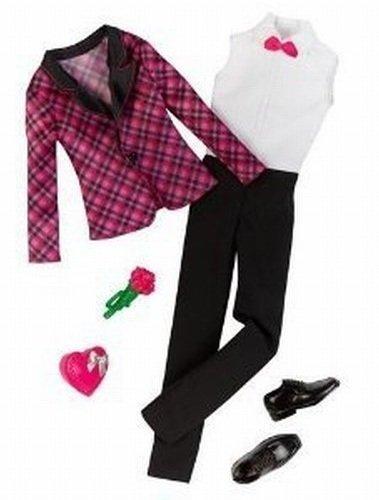 mattel-barbie-fashion-clothing-for-ken-black-pink-plaid-tux-jacket