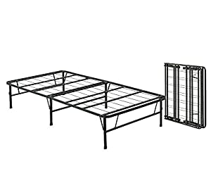 queen size bi fold folding bed frame