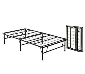 Amazon Com Queen Size Bi Fold Folding Bed Frame Kitchen