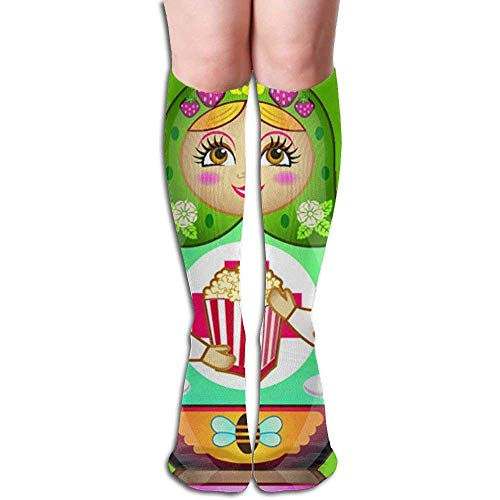 Personalized Cool Athletic High Socks Stockings Russian Moppet Girls Fashion Novelty Sports Crew Tube Knee Sock Stocking