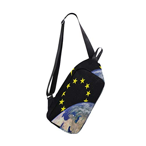 Sling Bag About Space Womens Chest Shoulder Backpacks Crossbody Travel ()