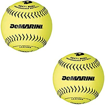 DeMarini Icon 44/.400 - Pelota de Softball de 12 Pulgadas ...