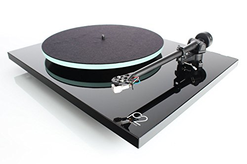 - Rega Planar 2 Turntable with RB220 tonearm, Glass-platter and Carbon Cartridge (Gloss Black)