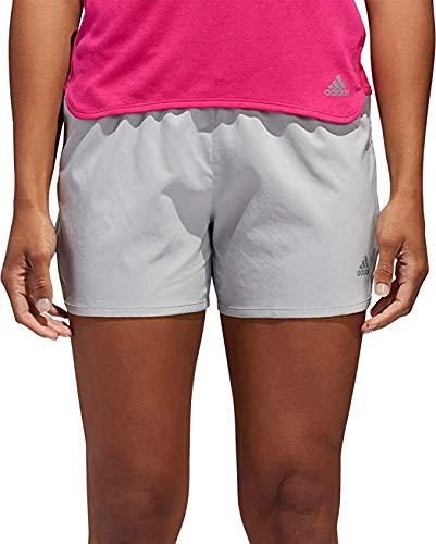 adidas Women's Sequencials Running Shorts (XL, Light Grey)