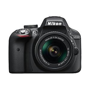 Nikon D3300 Digital SLR Camera (24.2 MP, AF-P 18-55VR Lens Kit, 3 inch LCD Screen) – Black