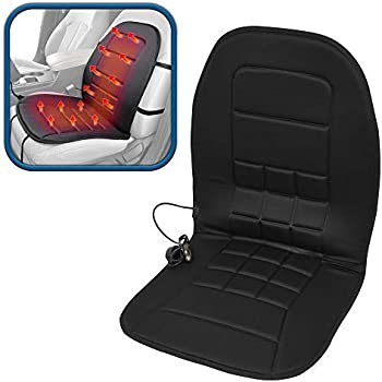 8f12bb297 Amazon.com  BDK Travel Warmer - Heated Seat Cushion 12-Volt Padded ...