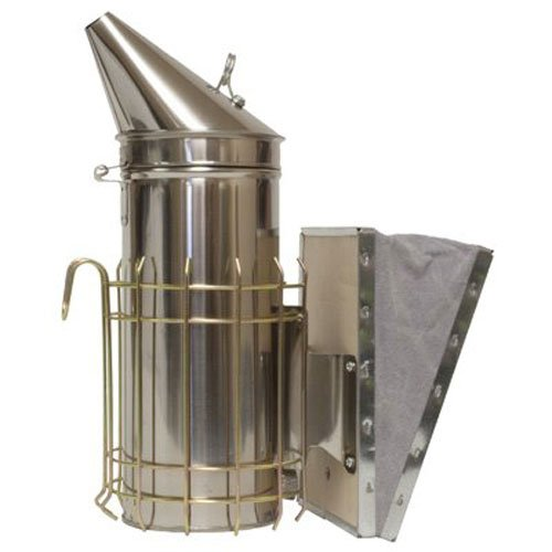 HARVEST LANE HONEY Large Smoker, For The Backyard Beekeeper with A Larger Amount of - Backyard Smoker
