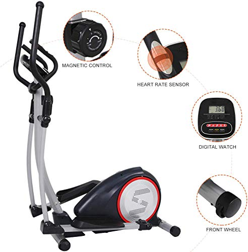no bland Elliptical Cross Trainer Elliptical Machine Cross Trainer 2 In 1 Exercise Bike