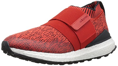 adidas Men's Crossknit 2.0 Golf Shoe, Hi-Res Red Carbon/FTWR White, 13 Medium US by adidas