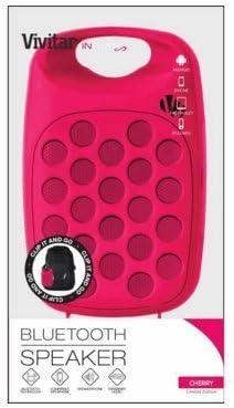 Vivitar Infinite Bluetooth Speaker – Pink – Limited Edition
