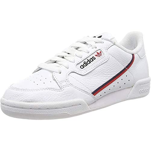 chollos oferta descuentos barato adidas Continental 80 Zapatillas de Gimnasia Hombre Blanco FTWR White Scarlet Collegiate Navy FTWR White Scarlet Collegiate Navy 36 EU