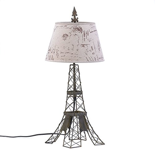 Eiffel Tower Lamps - Koehler 15162 27.5 Inch Parisian Table Lamp Home Decor