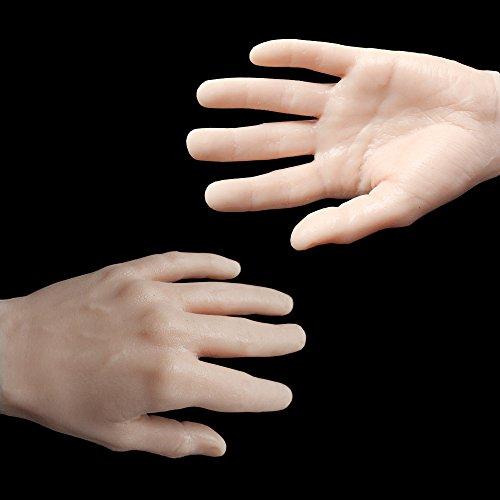 Getbetterlife Tattoo Practice Hand Fake Skin Synthetic Material Similar to Human (Skin Fake)