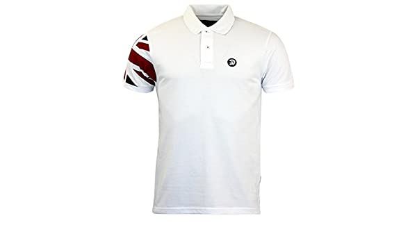Trojan Records - Polo - para Hombre Blanco Blanco Large: Amazon.es ...