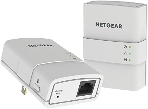 NETGEAR Powerline 500 1-Port Essentials Edition Starter Kit (XAVB5221) by NETGEAR