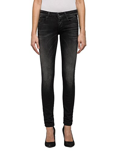 REPLAY Women's Rose Women's Grey Skinny-Fit Jeans In Size 27W 30L Grey (Jeans Replay Women)