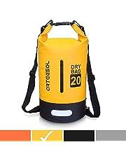 arteesol Dry Bag Wasserdichte Tasche 5L/10L/20L/30L Wasserfester Beutel Packsack mit Langen Doppeltem Verstellbarer Schulterriemen für Schwimmen Bootfahren Kajak Wassensport Treiben
