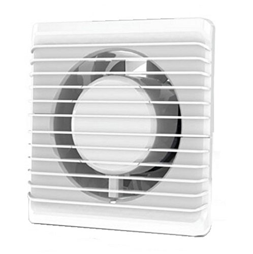 230 VAC La energía baja cocina baño silenciosa campana extractora 100 mm con extracción ventilación sensor de humedad