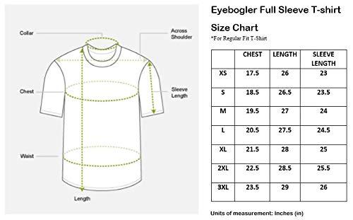 598ac9ee25 EYEBOGLER Men s Cotton T-Shirt (Pack Of 1) (Un1Wm)  Amazon.in  Clothing    Accessories