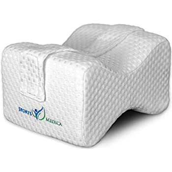 Amazon Com Knee Pillow For Side Sleepers With Strap