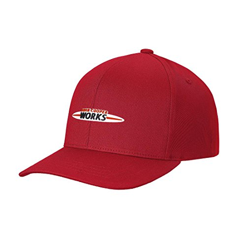 MINI JCW Logo Cap Chili Red ()