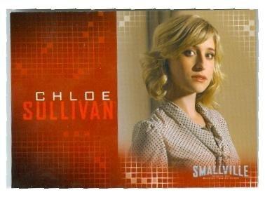 Chloe Sullivan trading card Smallville Superman Clark Kent #6 Allison Mack