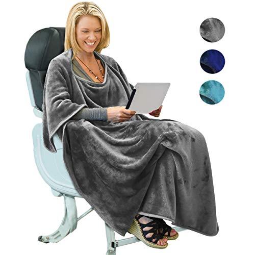Amazon Com Napa 4 In 1 Multi Functional Travel Blanket