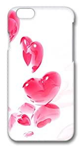iphone 6 4.7inch Case Scattered Heart PC Hard Plastic Case for iphone 6 4.7inch